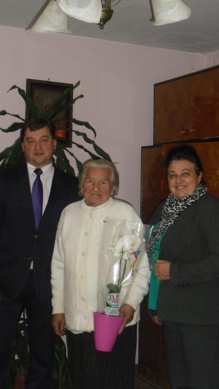 102 urodziny Pani Heleny Stasiak z Wielkiego
