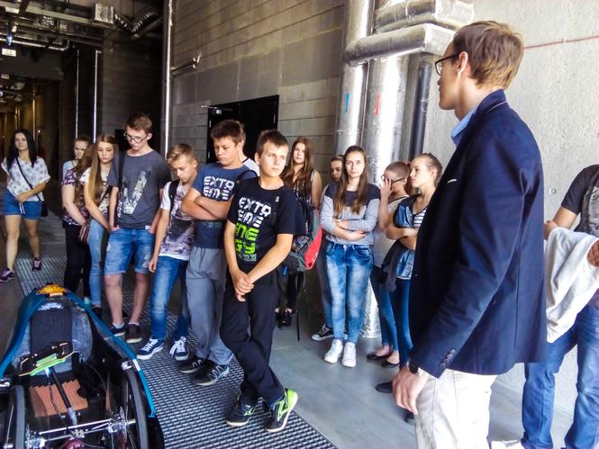 Wyjazd uczniów Gimnazjum im. Jana Pawła II w Abramowie