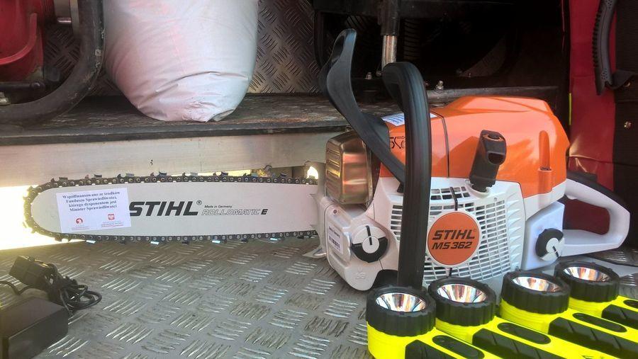 Sprzęt dla jednostki Ochotniczej Straży Pożarnych w Abramowie