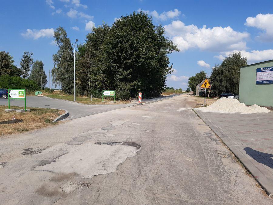 Przebudowa ul. Cmentarnej