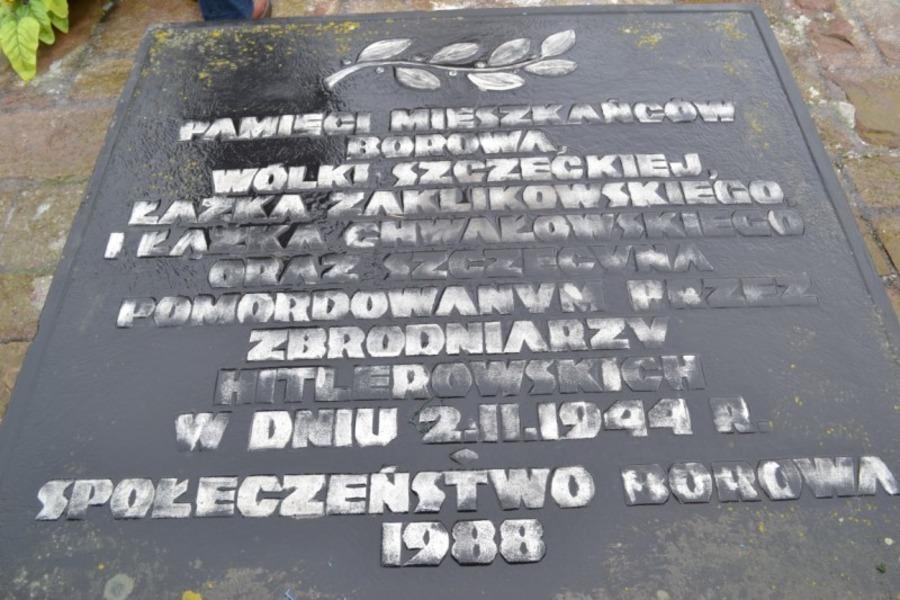 69 Rocznica Pacyfikacji Borówa