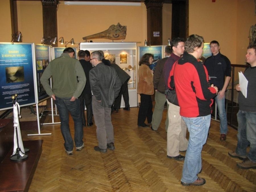 Otwarcie wystawy w Pałacu Kultury i Nauki