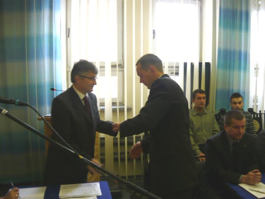 Inauguracyjna sesja Rady Miejskiej w Annopolu