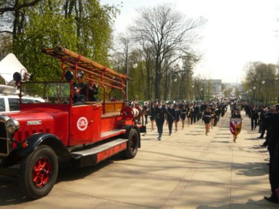 Pielgrzymka strażaków 2010