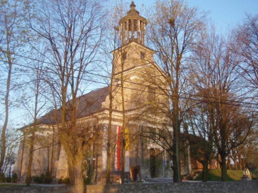 <p><strong>ANNOPOL- Kościół parafialny (murowany)</strong></p> <p></p>