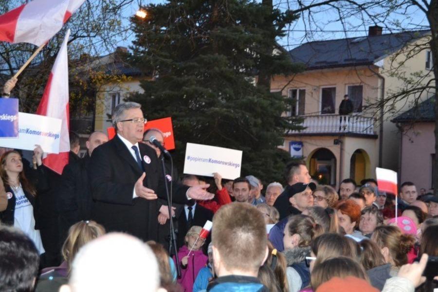 Bronisław Komorowski odwiedził Annopol