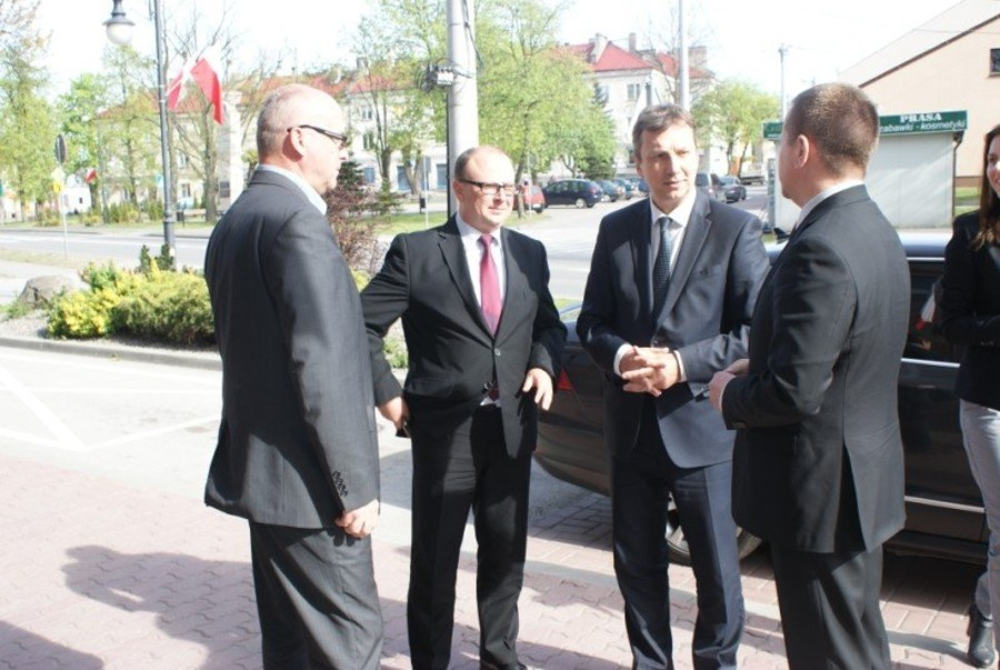 Minister Halicki w Annopolu