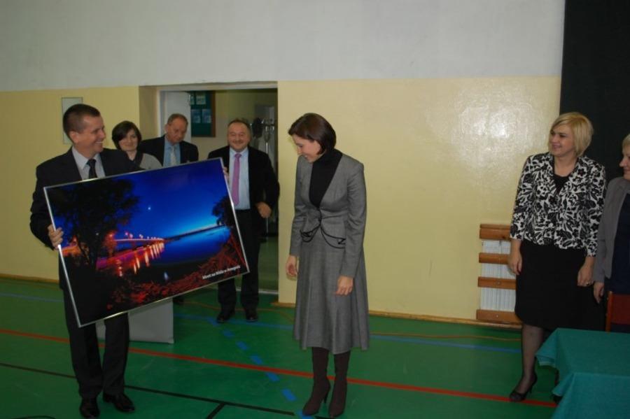 Wizyta Joanny Muchy w Annopolu