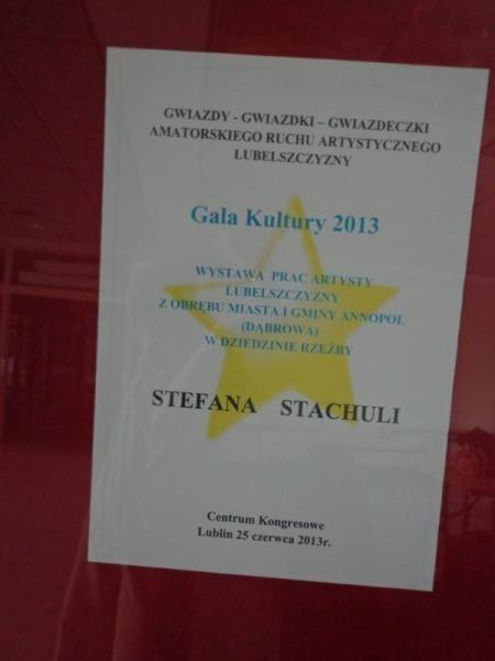 Wystawa rzeźby Pana Stefana Stachuli