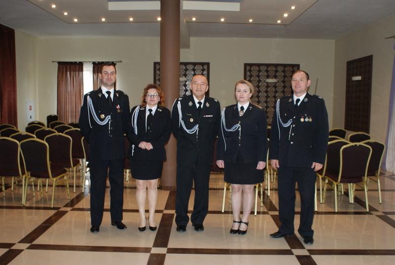 Zjazd Sprawozdawczo - Wyborczy Oddziału Miejsko-Gminnego Związku OSP RP w Annopolu