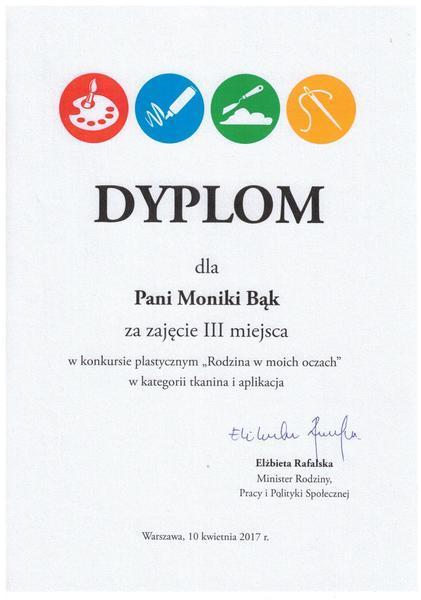 """Rozdanie nagród i wystawa prac  konkursu """"Rodzina w moich oczach"""""""