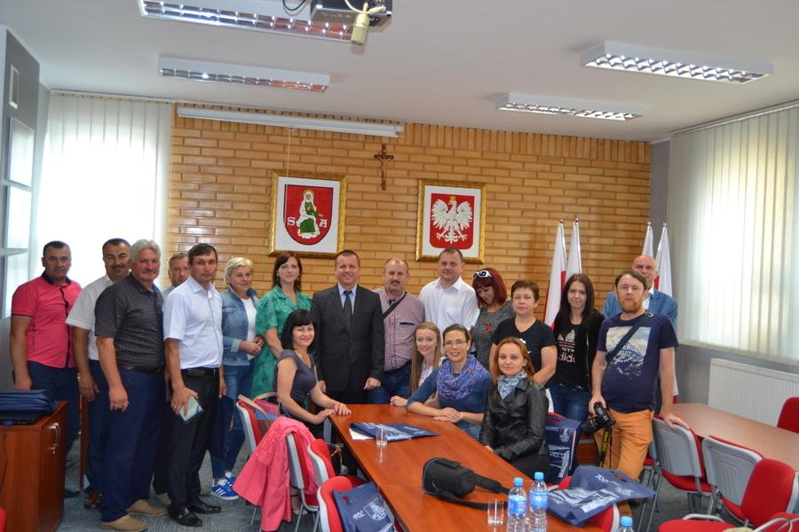 3 lipca Urząd Miejski w Annopolu gościł przedstawicieli samorządów ukraińskich z Rejonu sławuckiego.