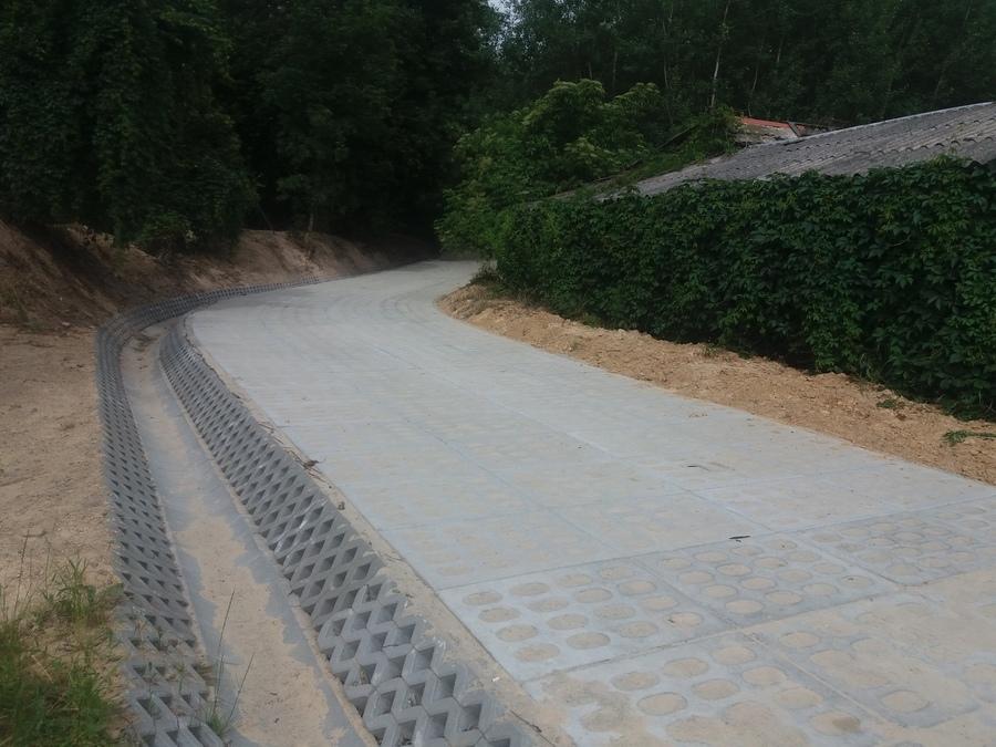 Modernizacja – przebudowa drogi w Wymysłowie (Góry). Wartość zadania  29999,69 zł.