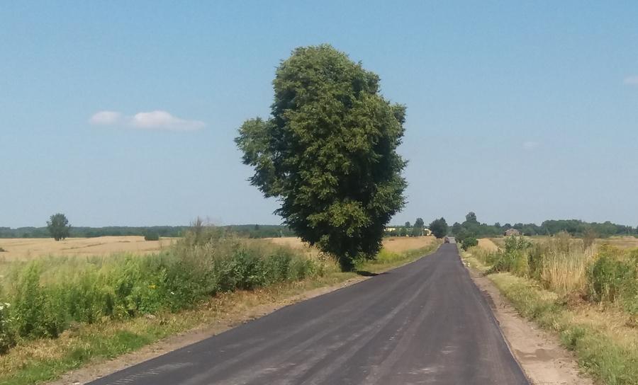 <p>Przebudowa drogi powiatowej nr 2707 L w Grabówce</p>