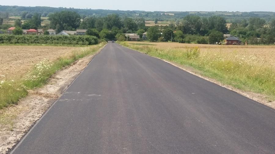 <p>Przebudowa drogi powiatowej nr 2644L w Bliskowicach</p>