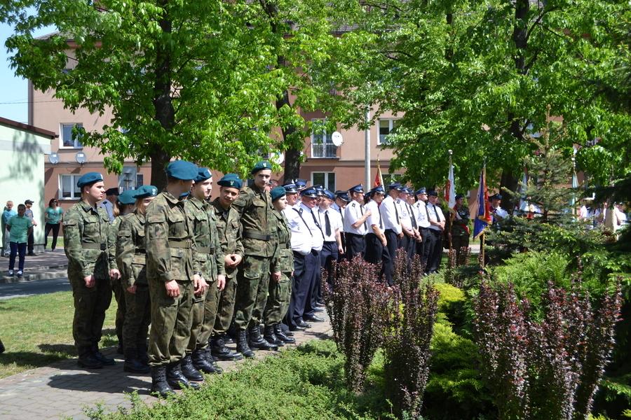 Powiatowe obchody Święta Narodowego Trzeciego Maja w Annopolu