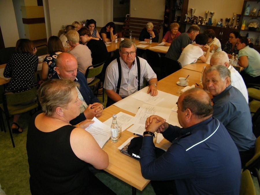 Spotkanie warsztatowe nad opracowaniem Strategii Rozwiązywania Problemów Społecznych Gminy Annopol
