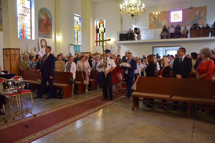 Parafia polskokatolicka p.w. św. Jana Chrzciciela w Świeciechowie Dużym w niedzielę 24 czerwca święt