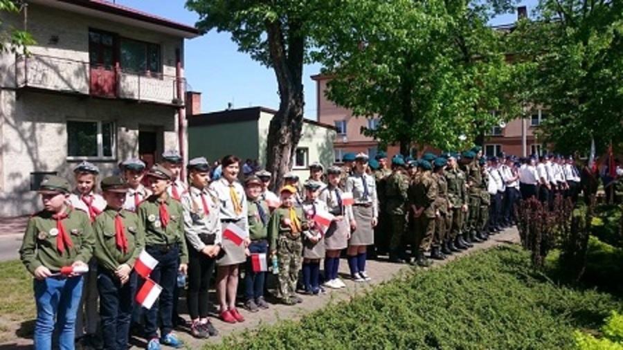 W harcerskim mundurze w Sztafecie Pamięci...