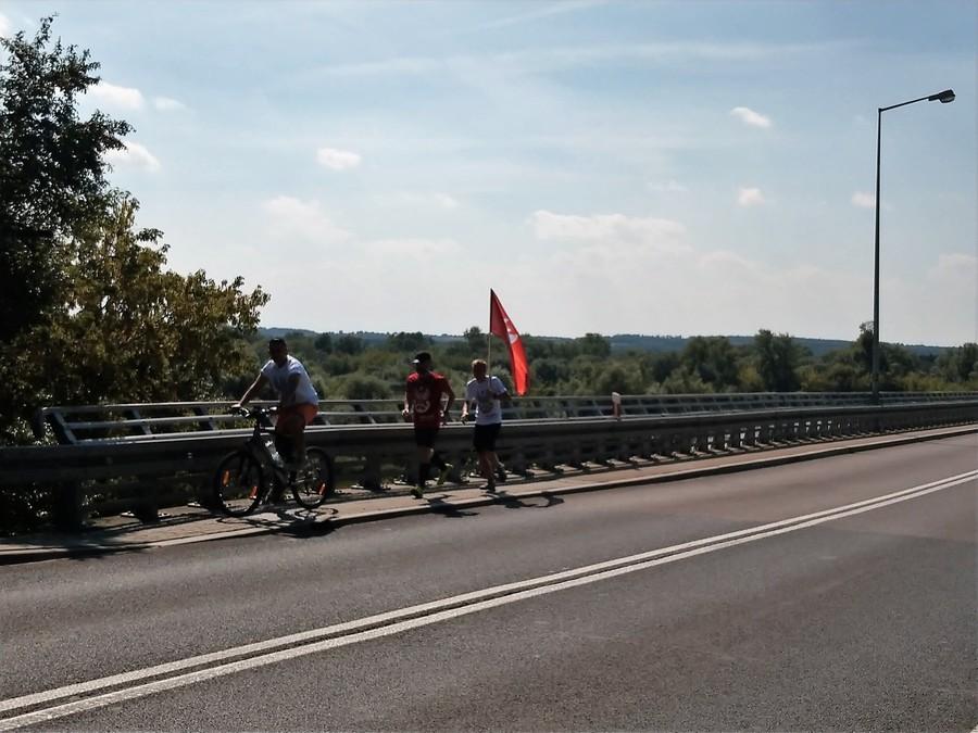 Sztafeta Niepodległości Wojsk Obrony Terytorialnej w Gminie Annopol