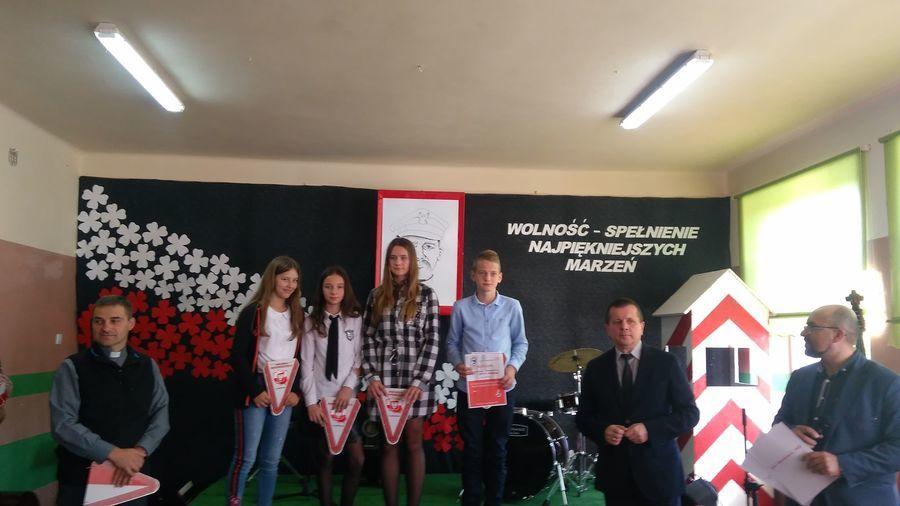 Gminny Konkurs Pieśni Patriotycznej - PSP w Świeciechowie.