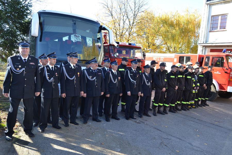 Przekazanie nabytych urządzeń i wyposażenia dla Ochotniczych Straży Pożarnych z terenu Gminy Annopol