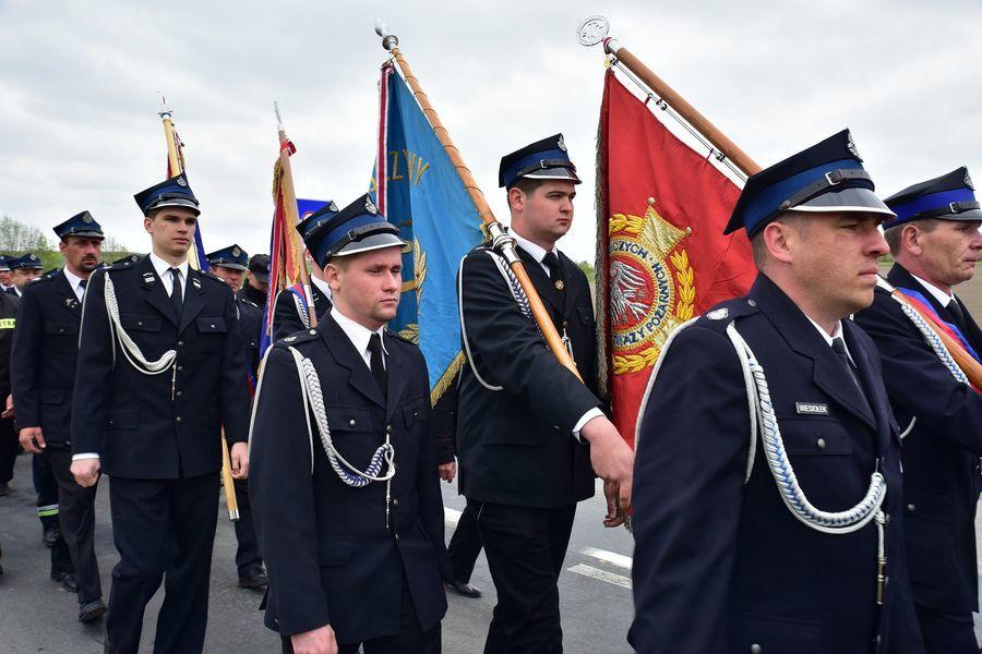 Uroczyste obchody 100. rocznicy działalności Ochotniczej Straży Pożarnej w Świeciechowie