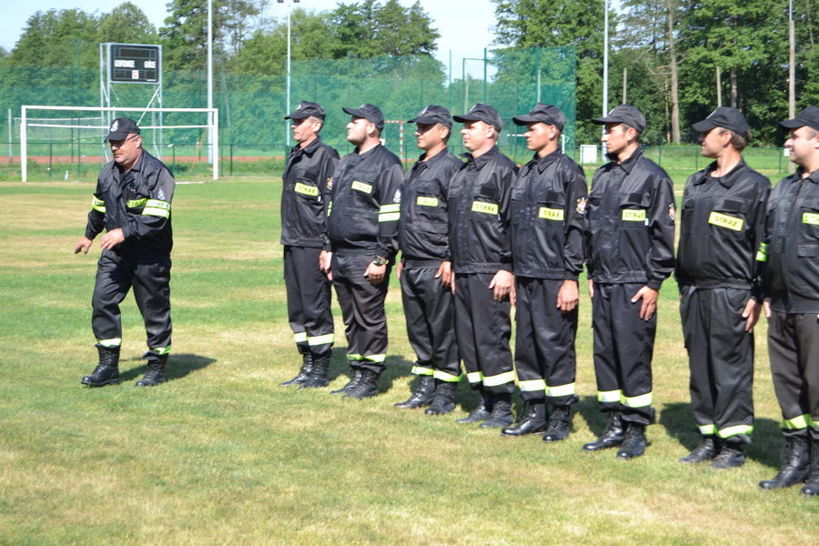 Zawody sportowo pożarnicze OSP