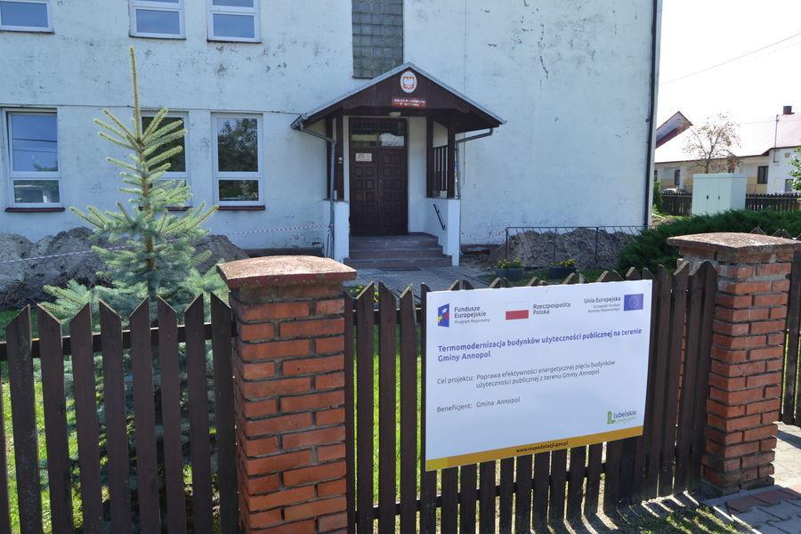 Publiczna Szkoła Podstawowa w Borowie - W trakcie realizacji projektu