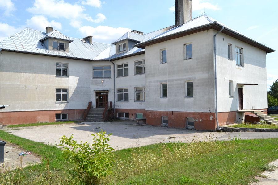 Publiczna Szkoła Podstawowa w Dąbrowie - Przed realizacją projektu