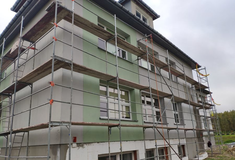 Publiczna Szkoła Podstawowa w Dąbrowie - W trakcie realizacji projektu