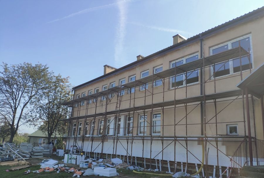 Publiczna Szkoła Podstawowa w Janiszowie - W trakcie realizacji projektu