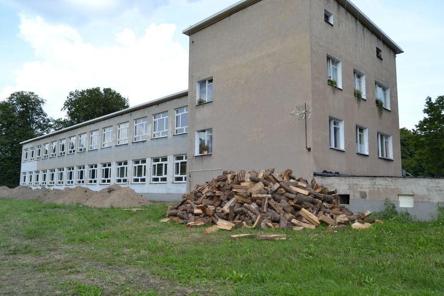 Publiczna Szkoła Podstawowa w Opoce Dużej - Przed realizacją projektu