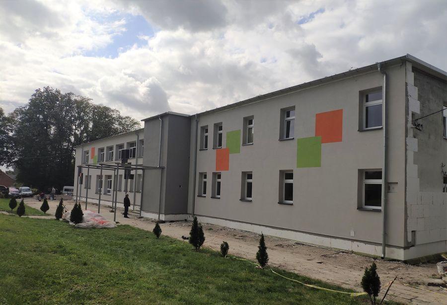 Publiczna Szkoła Podstawowa w Opoce Dużej - W trakcie realizacji projektu
