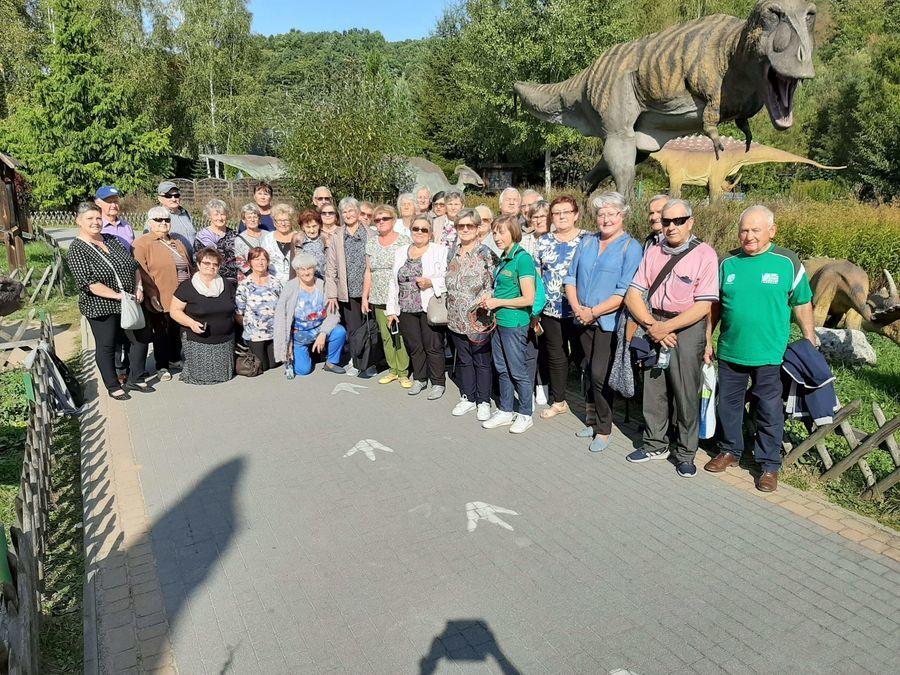Seniorzy w Jura Parku w Bałtowie