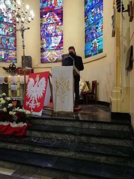 Obchody 102 rocznicy odzyskania Niepodległości-msza w intencji Ojczyzny