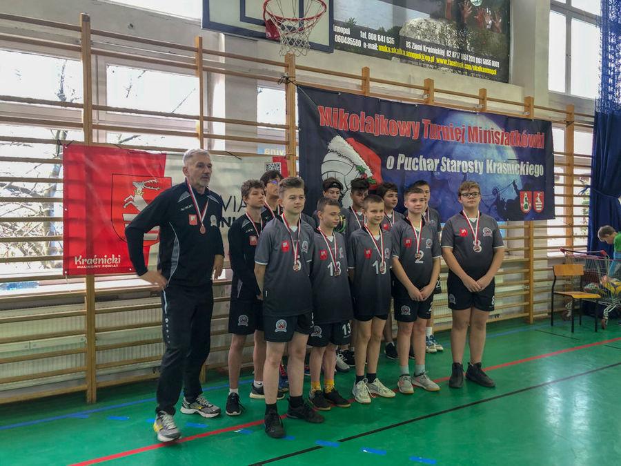 ceremonia rozdania medali-Olimp Opole L