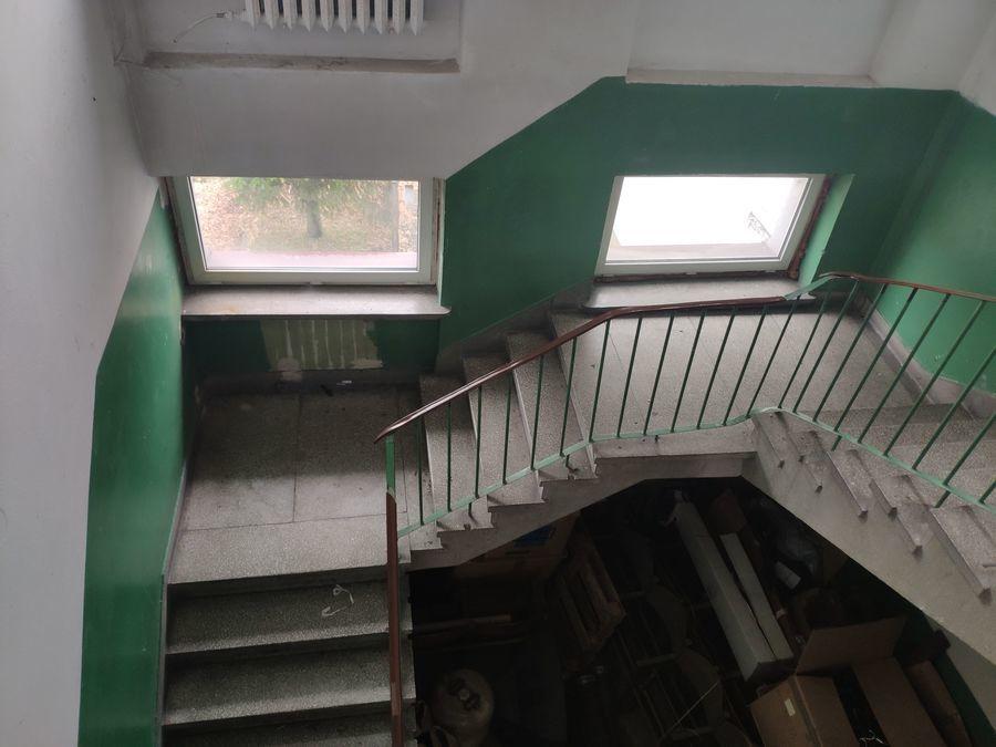 Miejsce realizacji projektu Klubu Senior  (klatka schodowa)