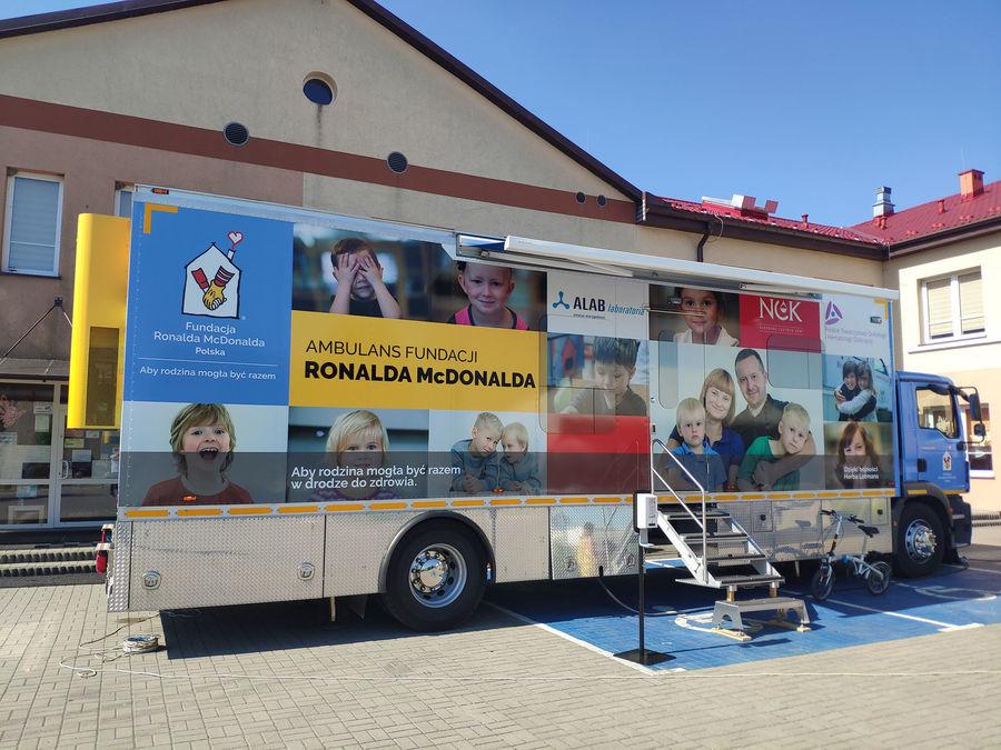Ambulans Fundacji Ronalda McDonalda