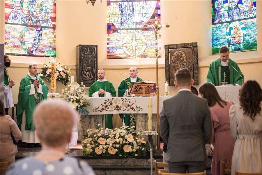 Msza Św. w intencji Jubilatów obchodzących Jubileusz 50-lecia Pożycia Małżeńskiego