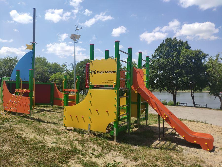 Plac zabaw w Jakubowicach
