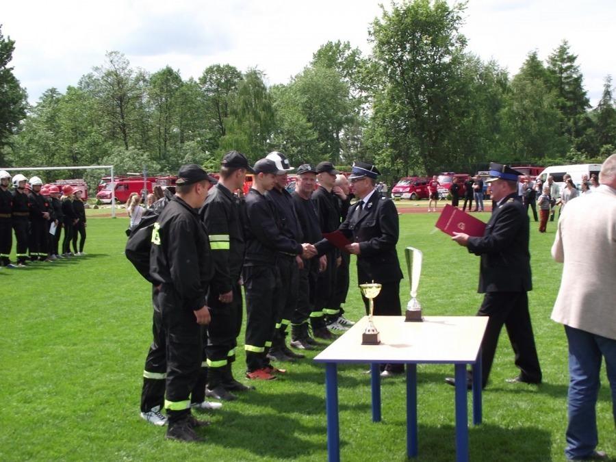 ZAWODY STRAŻACKIE w Borzechowie Kolonii