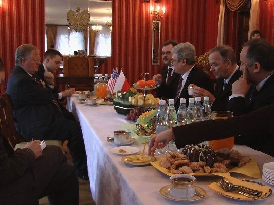 Wizyta Ambasadora USA Victora Ashe