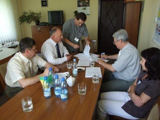 Podpisanie umowy o dofinansowanie