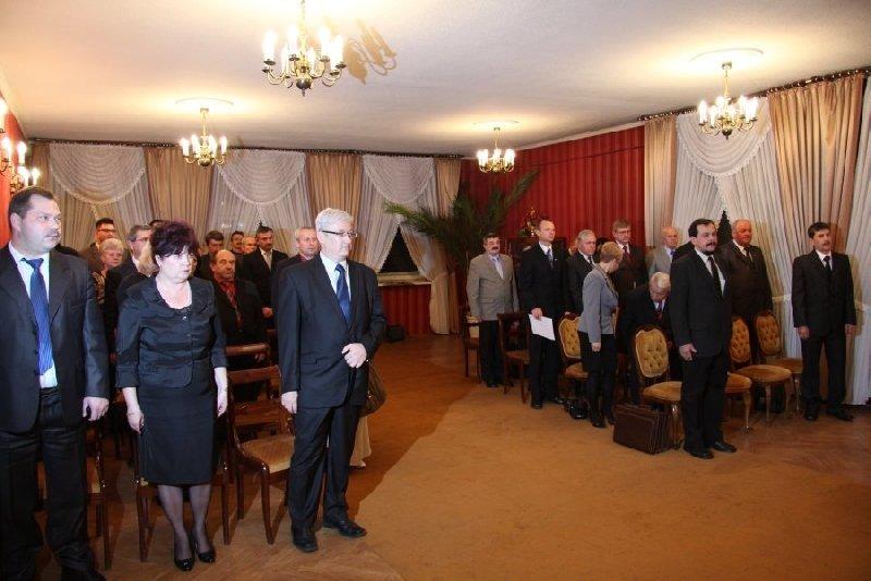 Uroczysta sesja Rady Miasta Dęblin - zaprzysiężenie radnych