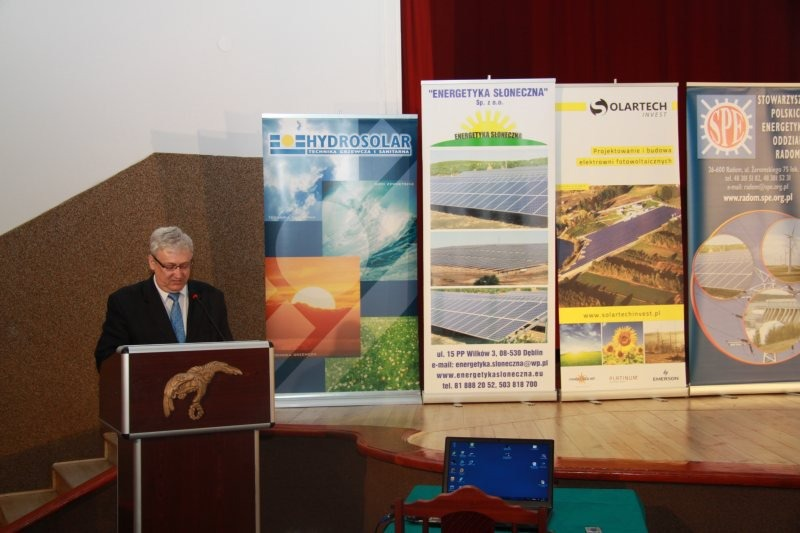 Konferencja - Wykorzystanie energii słonecznej dzisiaj i w przyszłości