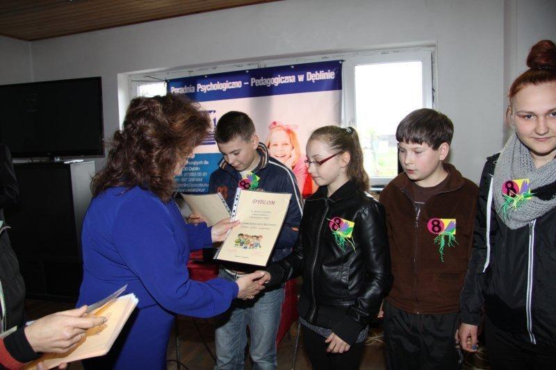 Rozdanie nagród w konkursie profilaktyki antyalkoholowej