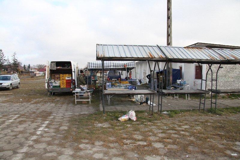 Przebudowa targowiska miejskiego przy ul. Niepodległości w ramach projektu Mój Rynek