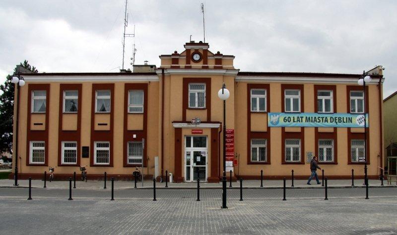Remont elewacji części A budynku Urzędu Miasta w Dęblinie.