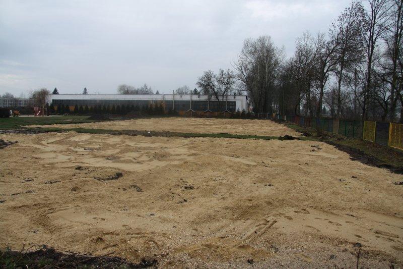 Budowa kompleksu sportowego przy Zespole Szkół nr 3.